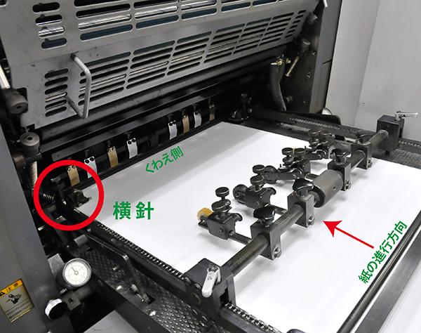 印刷・製本の要、針と咥え(くわえ)