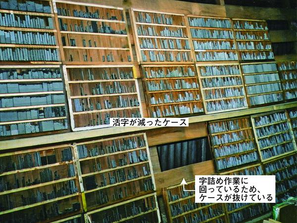 活版印刷を深掘り⑤ ~活字を切らさないための準備~
