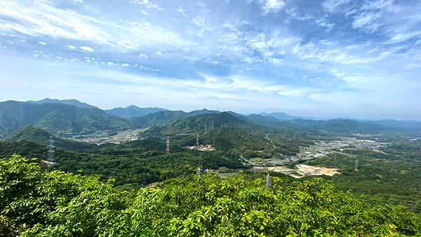 下関の山ー四王司山~勝山の新緑
