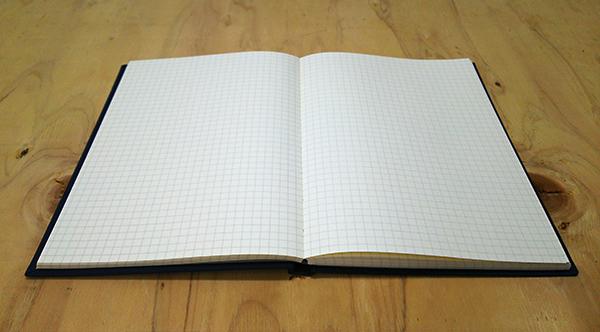 180度開く手帳の製本